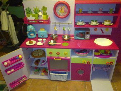 Cocina de juguete paso a paso | Hacer bricolaje es facilisimo.com