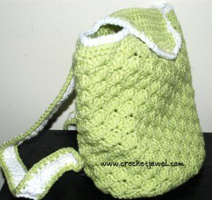Free Crochet Pattern Baby Carrier : 1000+ images about crochet backpack on Pinterest Bags ...
