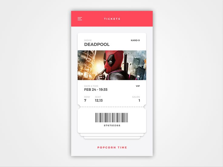 Hello, dribbblers!  I've got my connection back) So it's the 20th day) And I decided to do film ticket)  Share some love and press