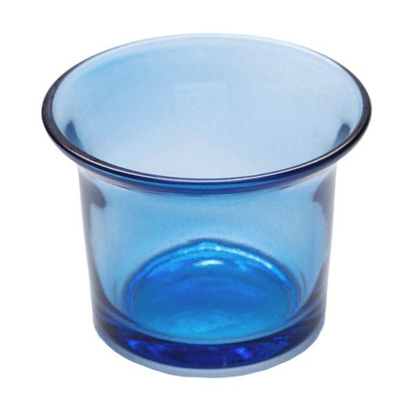 Buy Flared Tealight Glass Cup - Blue at deep discounts. Find thousands of candles and battery candles featuring Blue, Bulk, Candle Holders, Hotel, Party, Restaurant, Spas, Tealights, Wedding
