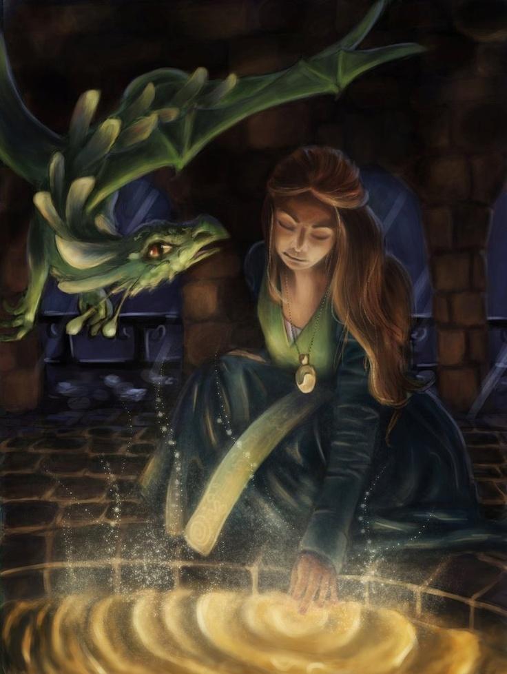 wishing well by schattenlos  Fantasy Art  Fantasy art