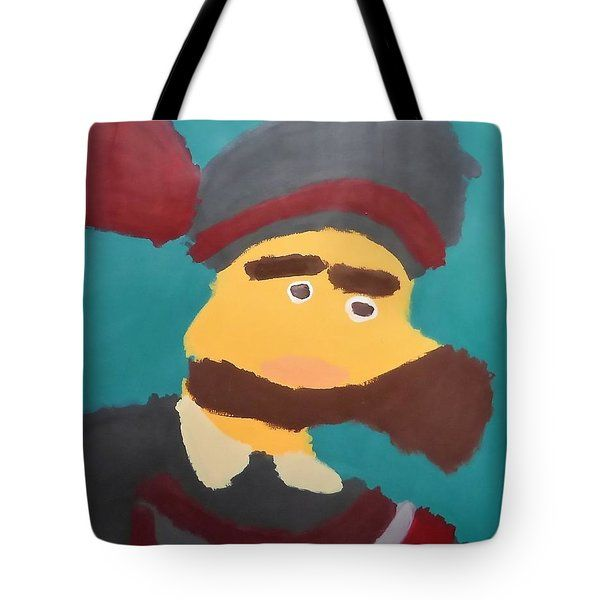 Patrick Francis - Tote Bag featuring the painting The Emperor Charles V 2014 - After Peter Paul Rubens by Patrick Francis