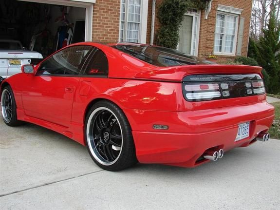 Red Nissan 300zx