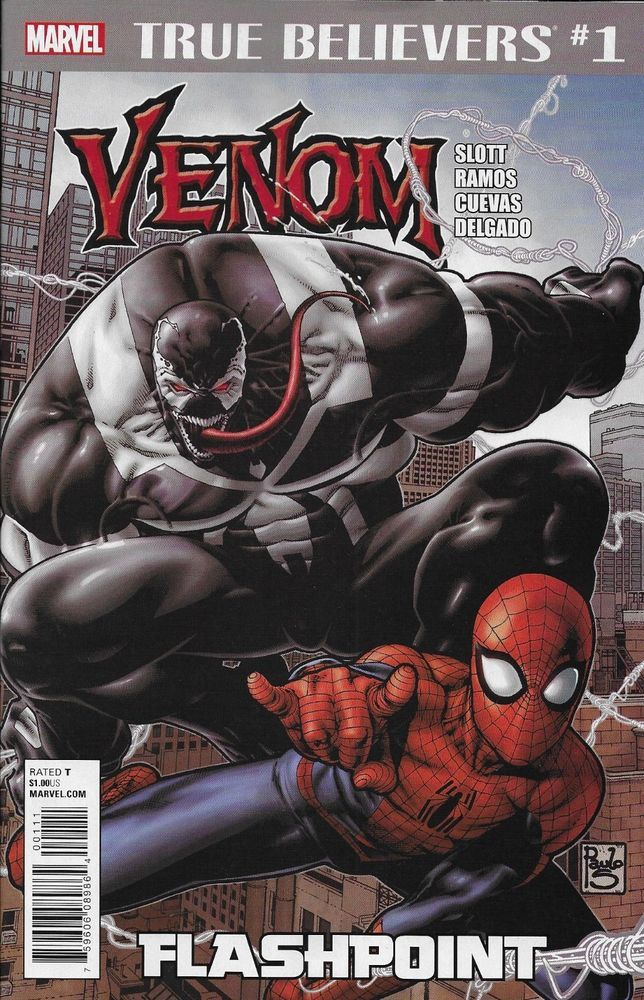 Marvel Venom Shiver comic issue 1 True Believers Classic