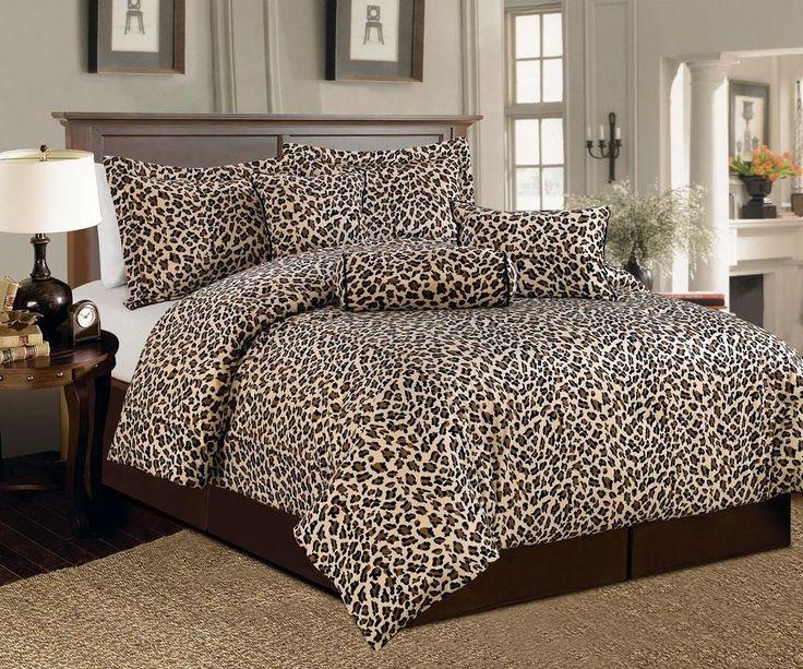 Best 25+ Cheetah Print Bedding Ideas On Pinterest