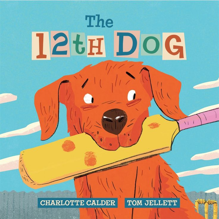 The fabulous The 12th Dog cover - illustrated by the brilliant Tom Jellett.