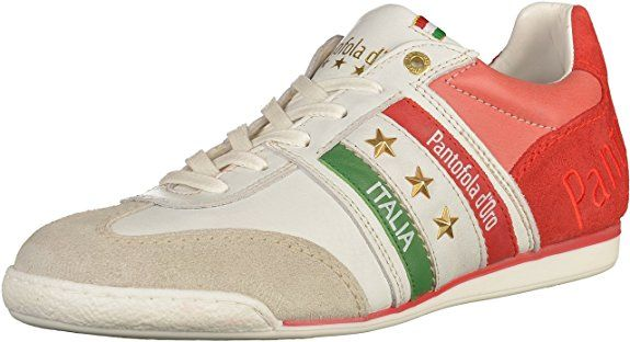 Pantofola D'Oro Herren Imola Romagna Uomo Low Sneaker, Rot (Racing Red), 40 EU