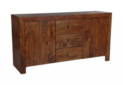 Dakota Dark Large Sideboard