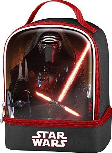 Thermos Star Wars Episode VII Dual Compartment Lunch Box Kit, Kylo Ren #Thermos