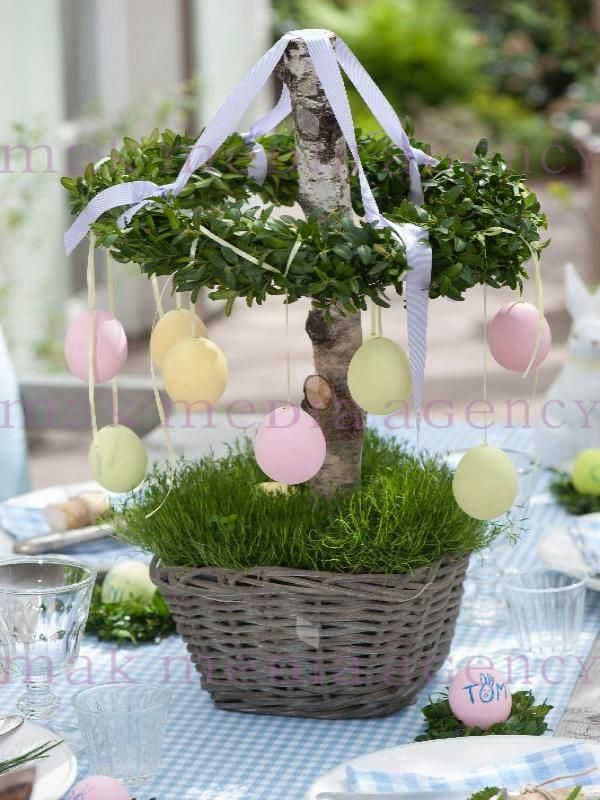 So cute this easter deco