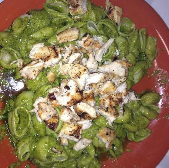 Homemade Creamy Basil Pesto Pasta | Recipes to Try | Pinterest