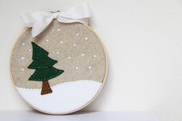 Návod na zimní dekoraci: http://www.prosikulky.cz/zimni-obrazek/  Winter decoration tutorial: http://www.prosikulky.cz/zimni-obrazek/
