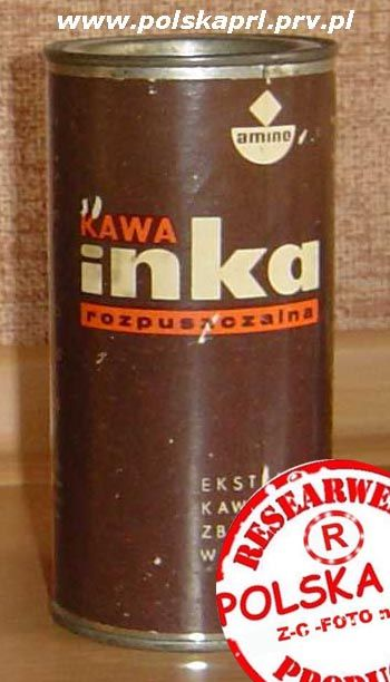 Inka - decaffinated coffee from Poland, now very popular around the world
