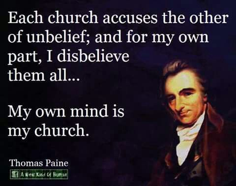Thomas Paine a good man born in my home town :)