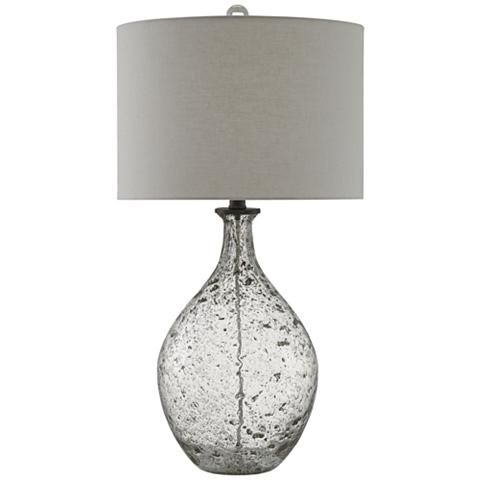 Currey and Company Luc Speckled Glass Jug Table Lamp - #9R165   Lamps Plus