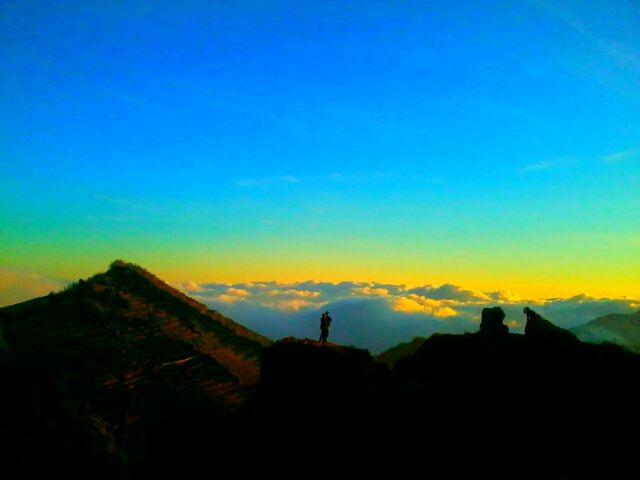SUNSET IN SIKUNIR WONOSOBO