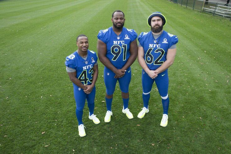 Philadelphia Eagles RB/KR Darren Sproles, DT Fletcher Cox & C Jason Kelce