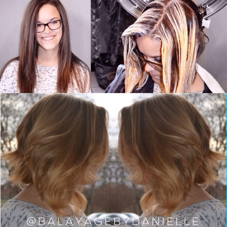 Transformation by Danielle Balayage and trendy haircut. J ...