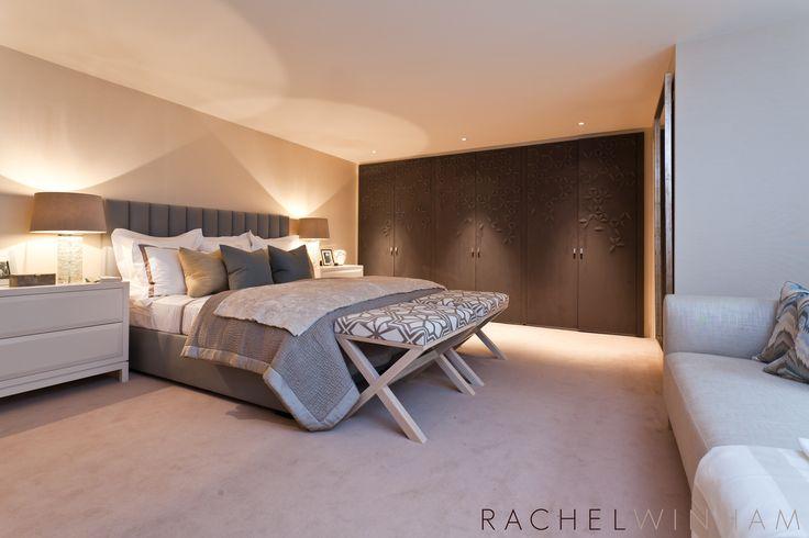 Bedroom Rachel Winham Interior Design RW PROJECT 3 Chelsea - wandgestaltung schlafzimmer dachschräge