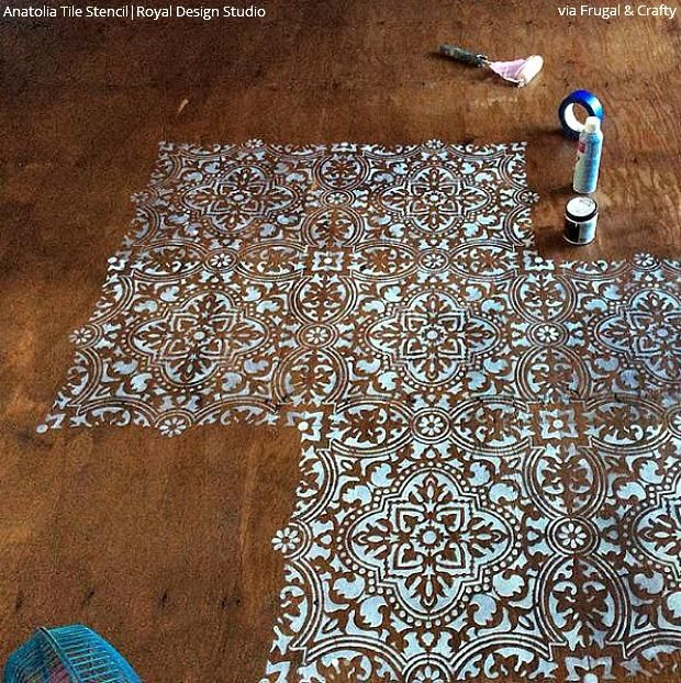 346 Best Stenciled Amp Painted Floors Images On Pinterest