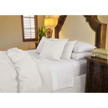 These are the  SOFTEST, MOST HEAVENLY SHEETS you will ever sleep in!!! And, despite their more than $400 pricetag, they can be had for $99 at Costco. Jennifer Adams Home Eternal Sheet Set