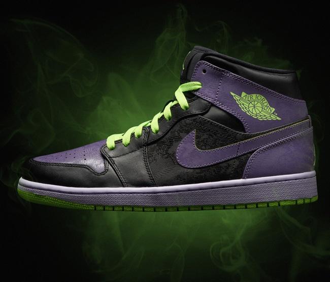 span itempropnameAir Jordan 1 Retro Joker AllStar Black Green Purple Men Women GS Girlsspan