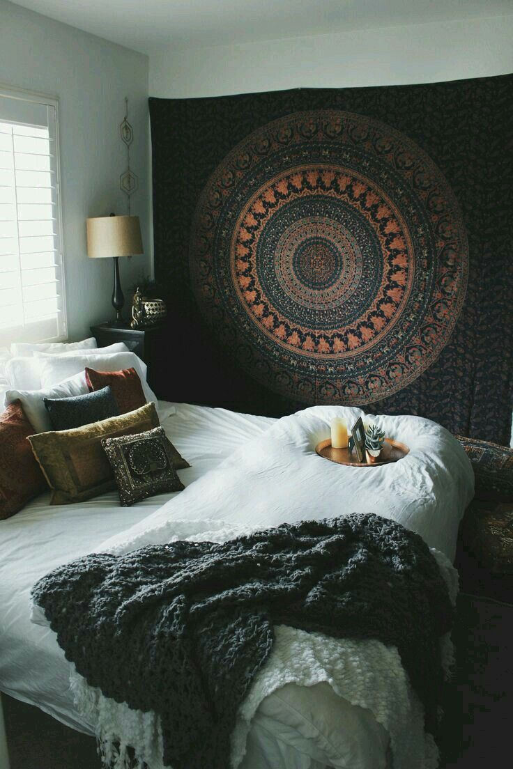 Sweet and comfy bohemian bedroom decor ideas