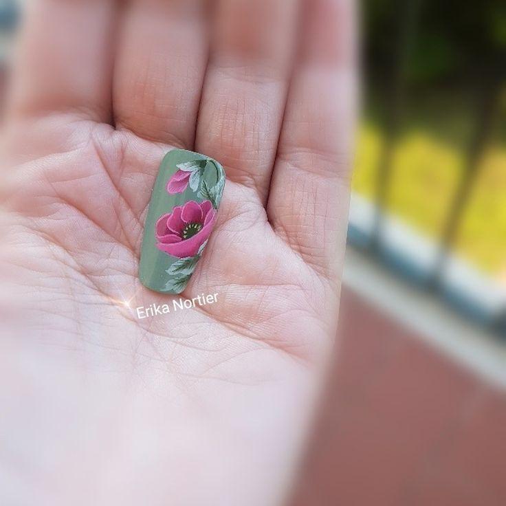 Beautiful one move nail art