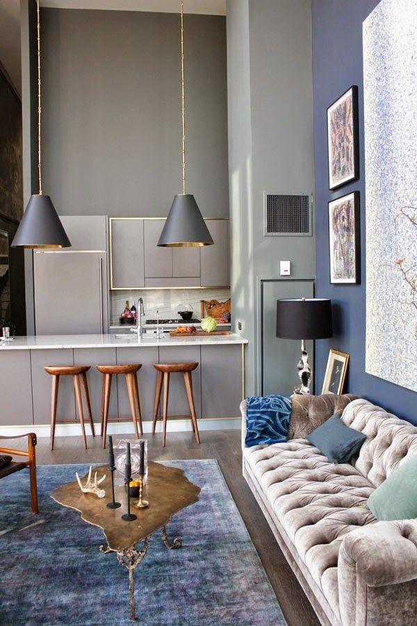 Otro ático de lujo y techos altísimos (prepárate a sufrir :)) · Another luxury penthouse