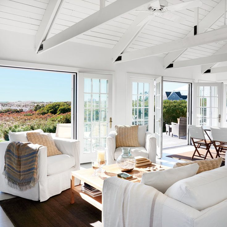 After: Open and Light-Filled - 20 Amazing Living Room Makeovers - Coastal Living