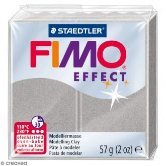 Fimo effect Gris clair perle 817 - 57 gr