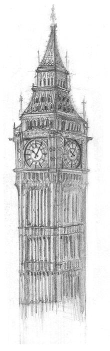 Big Ben Sketch