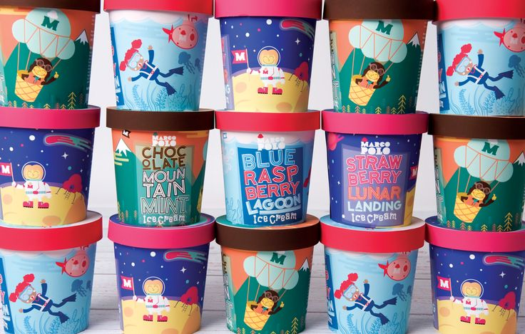 Marco Polo Ice Cream (Student Project) on Packaging of the World - Creative Package Design Gallery