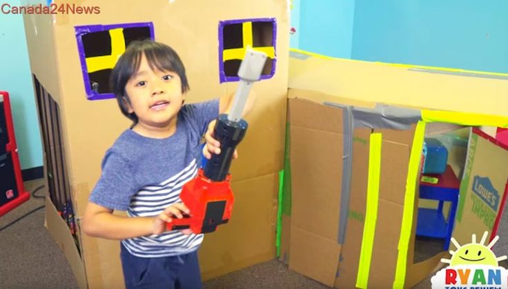 Six-year-old Ryan makes millions every year reviewing toys on YouTube