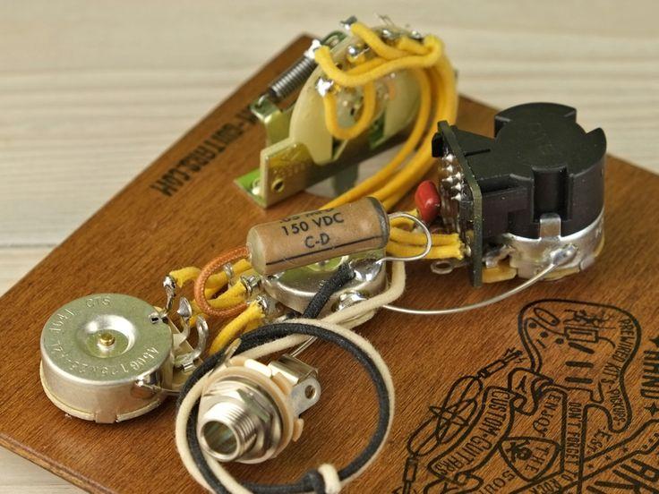 Arty U0026 39 S Custom Guitars 7 Way David Gilmour Push Pull Vintage Pre