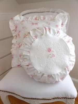 furnishings white shabby chic chair with pillows by esther for rh pinterest ca