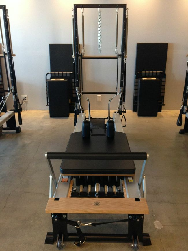 Pilates reformer of choice! #STOTT #Pilates #reformer