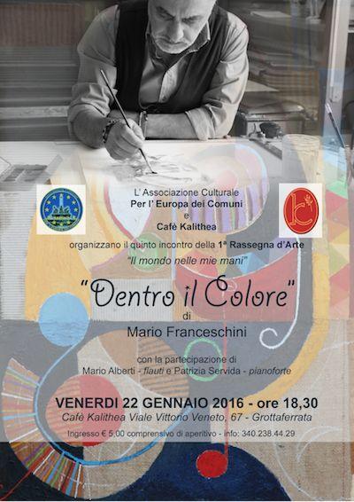 Il Mamilio - Mario Franceschini in mostra a Grottaferrata
