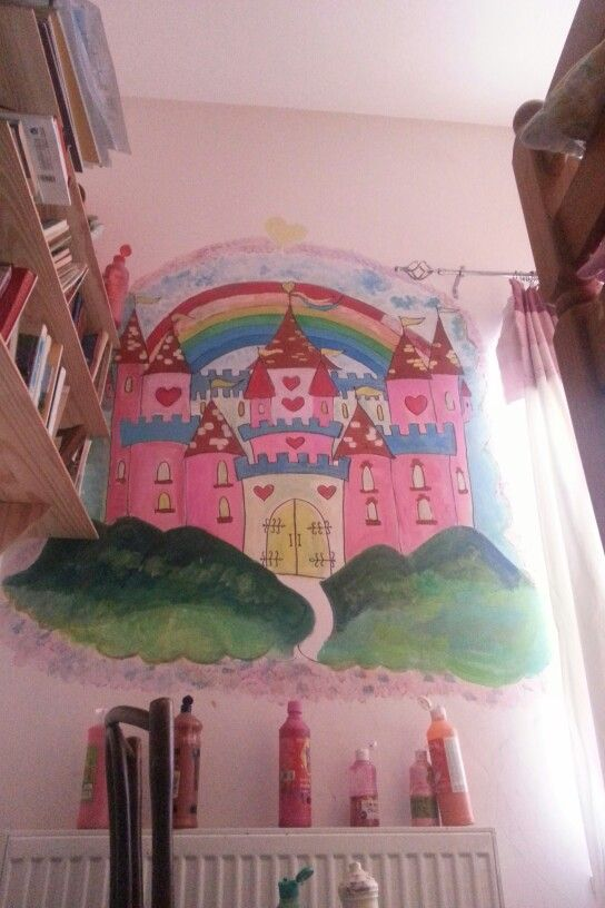 Princess palace mural