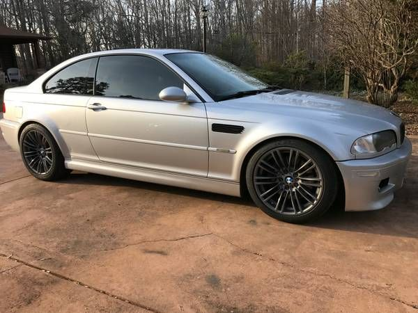 2002 BMW M3 6speed coupe