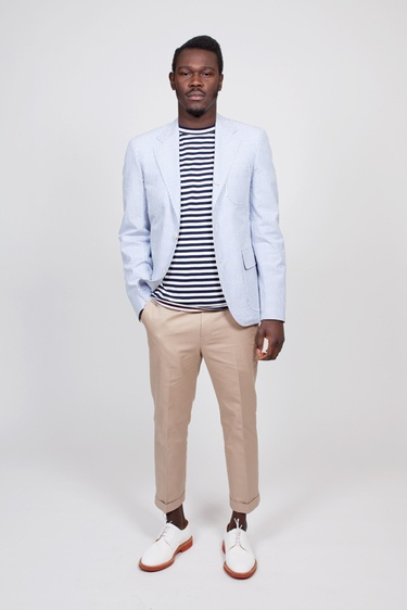 StreetStyle n2: Brooks Brothers Seersucker Jacket
