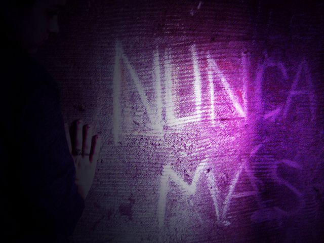 Nunca más #Graffiti