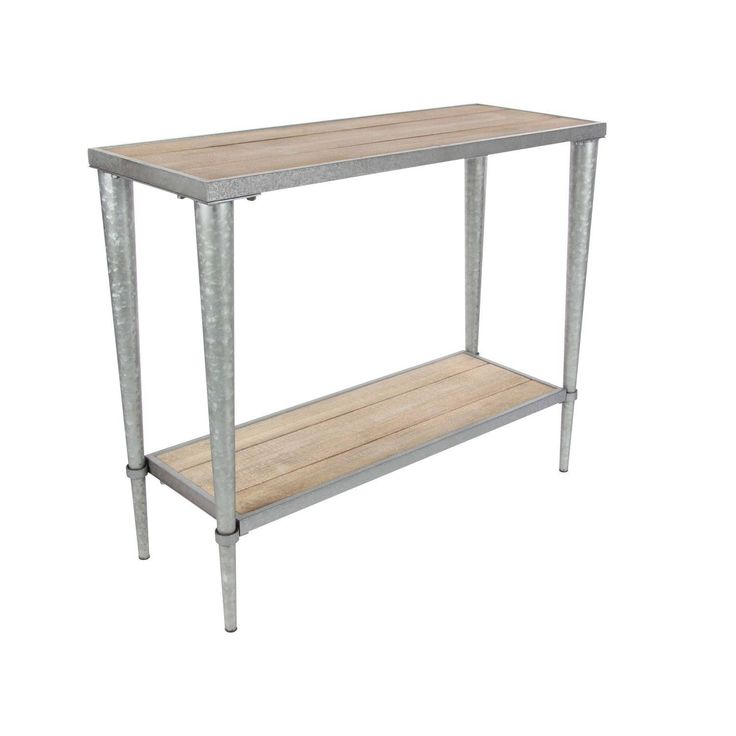 Studio 350 Metal , Silver Console Table