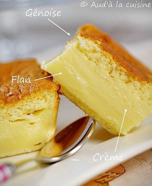 Abracadabra : gâteau magique !!!   la recette la plus classique du gâteau magique, celle à la vanille !