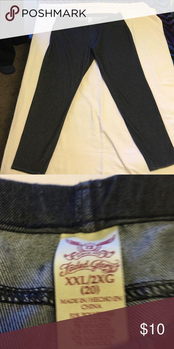 Women's jeggings Women's jeggings size XXL Faded Glory Pants Leggings