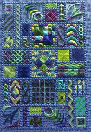 Fun Stuff by DebBee's Designs, charted needlepoint