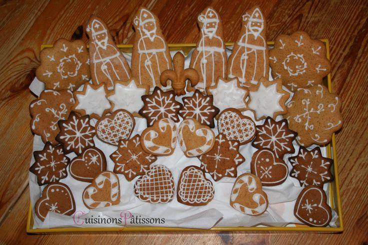 Biscuit de l'Avent - Saint-Nicolas  Quoi de mieux que de bons biscuits aux épices pour commencer l'Avent ?