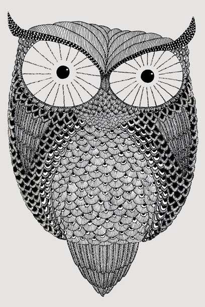 Owl af Caroline Sillesen