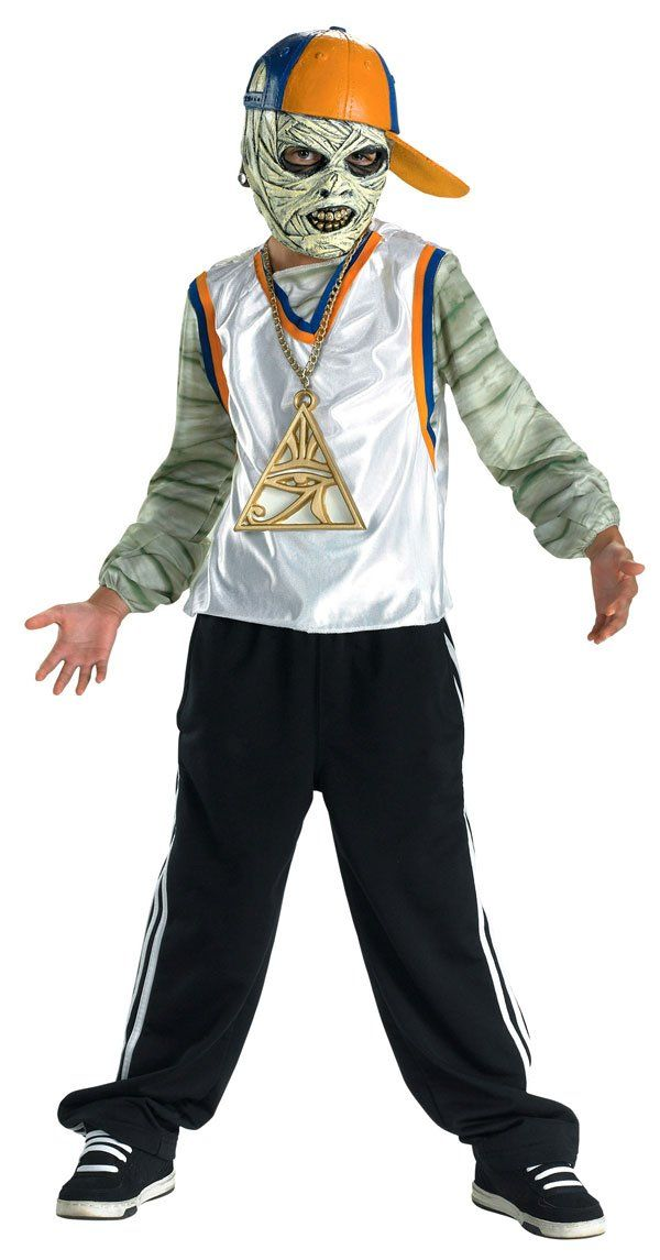 Wrapper Time Scary Boys Costume - Tween Size 14-16