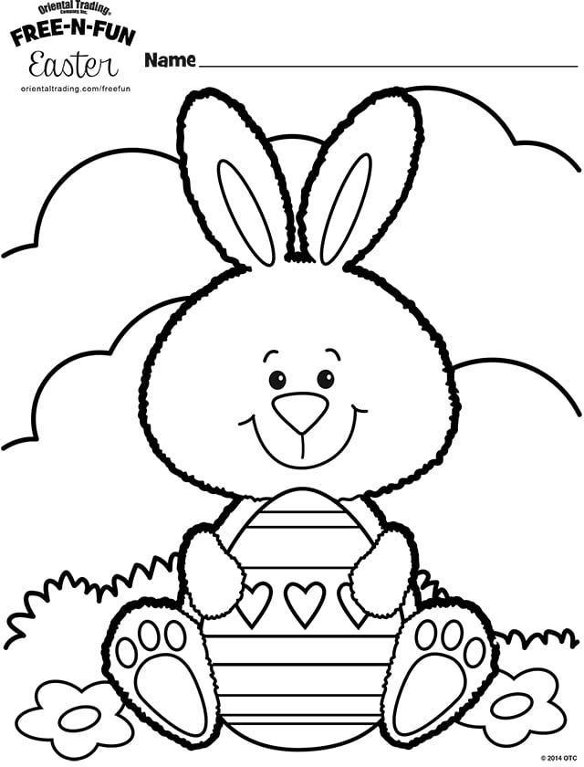 Free Printable Easter Coloring Pages Are Fun For Kids Of All Ages Easter Egg Coloring P Bunny Coloring Pages Free Easter Coloring Pages Easter Bunny Colouring